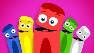 getlinkyoutube.com-Colores en Español para niños | La Pandilla de Colores - Volumen 3 | 30 minutos