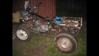 getlinkyoutube.com-Создание самодельного квадроцикла на базе мотоцикла Днепр | Creating a homemade ATV