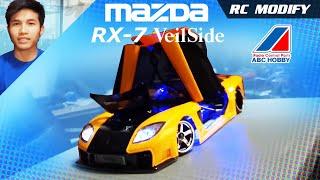 getlinkyoutube.com-RC Modify 11 Part 1 | Mazda RX-7 VeilSide [English]