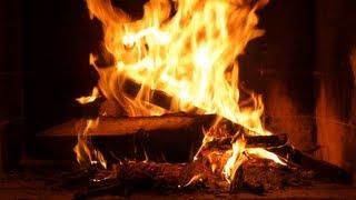 getlinkyoutube.com-FEU DE CHEMINEE HD kaminfeuer kamin Походный костер fireplace Треск AMBIANCE