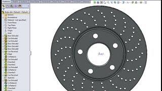 getlinkyoutube.com-SolidWorks tutorial: Brake disk