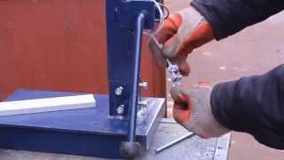 getlinkyoutube.com-Самодельная стойка для дрели своими руками.Часть4.Homemade drill press
