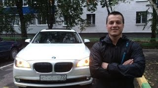 getlinkyoutube.com-Тест драйв BMW 7 F02 740