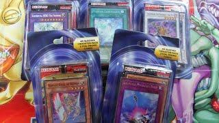getlinkyoutube.com-Mystery Yugioh Blister Pack! 40 Sleeves 1 Booster Pack & 2 Foil Promo Cards! X5 Opening!