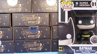 getlinkyoutube.com-Gamestop Black Friday Funko Pop  11 Mystery Box Figures Collection 2015 Review Unbox Chase Gold