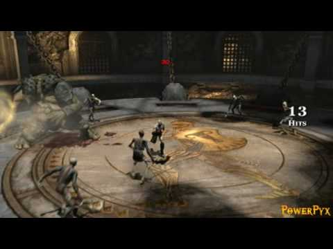 God of War III - Olympus Challenge Bare Hands