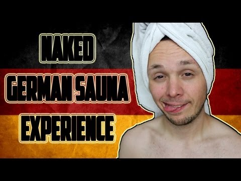 Naked German Sauna Experience