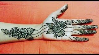 getlinkyoutube.com-Ramjan eid mehendi, Diwali Mehandi Henna design- Best latest simple Mehendi design for Diwali