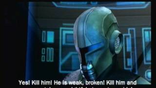 Star Wars The Force Unleashed(Wii) - Dark Side Ending