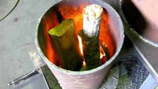 getlinkyoutube.com-ロケットストーブ Rocket stove mass heater