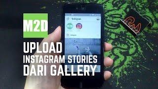Cara Upload Foto Instagram Stories dari Gallery