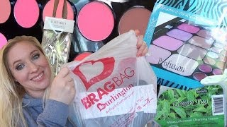 getlinkyoutube.com-Burlington Coat Factory: Makeup Haul....Yes It's Possible!