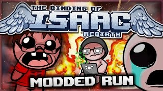 getlinkyoutube.com-The Binding of Isaac: Rebirth - Modded Run: TRIPLE ALL THE THINGS!