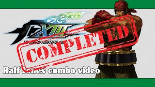 getlinkyoutube.com-KoF XIII: Ralf Jones combo video (FINAL VERSION)