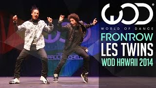 getlinkyoutube.com-Les Twins | FRONTROW | World of Dance 2014 #WODHI