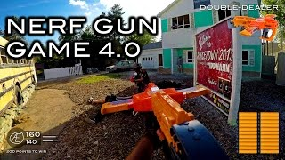 getlinkyoutube.com-Nerf meets Call of Duty: Gun Game 4.0 | First Person on Nuketown in 4K!