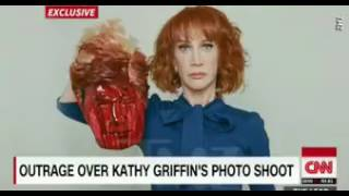 CNN admits Kathy Griffin is The Payroll, then CNN Panel Attacks