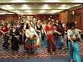 Belly Dancers Performing UK Guinness Book World Record