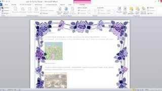 getlinkyoutube.com-Como hacer Bordes de pagina personalizados en Word 2010