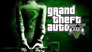 "Grand Theft Auto 5 How to dress up like ""Riddler"" from The Batman Comic Strip"