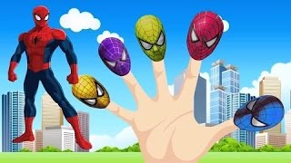 getlinkyoutube.com-Finger Family Spiderman | Spider Man Finger Family Songs | Kids Songs | Popular Nursery Rhymes