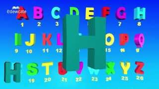 getlinkyoutube.com-ABCD Alphabet Songs | 3D ABC Songs for Children | Learning ABC Nursery Rhymes in 3D