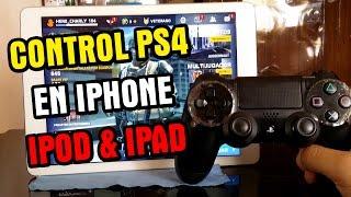 getlinkyoutube.com-Como conectar el control PS4 a iPhone iPod y iPad +Solucion | Controllers For All