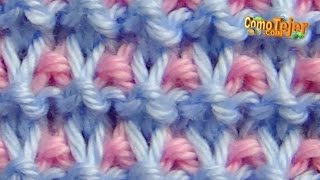 getlinkyoutube.com-Cómo Tejer Punto ROPA BEBÉ #17 How to Knit a BABY STITCH 2 Agujas (413)