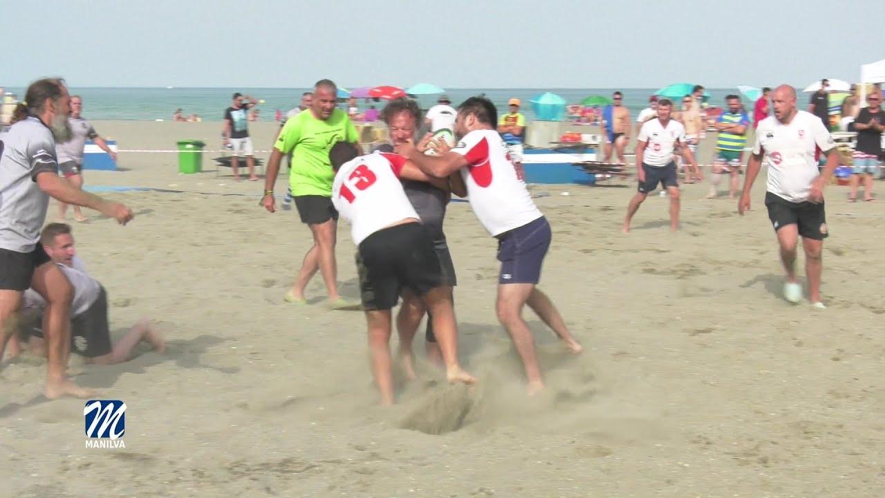Manilva acogió las Series Españolas de Rugby Beach 5