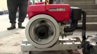 getlinkyoutube.com-How to Manual Star ヤンマーディーゼル  Yanmar NS60T diesel marine Engine (part 1)