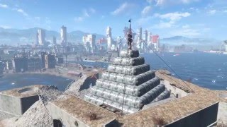 Fallout 4 : How to build a Pyramid
