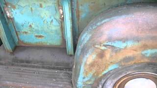 1950 GMC 100 pickup truck barn find first run and walkround