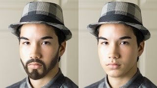 getlinkyoutube.com-How to Create a Realistic Beard From Scratch in Photoshop