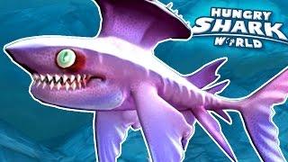 getlinkyoutube.com-NEW SHARK SPIKE!!! - Hungry Shark World | Ep 35 HD