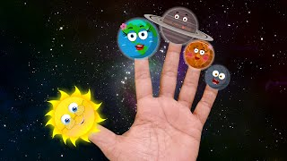 getlinkyoutube.com-Finger Family Planets