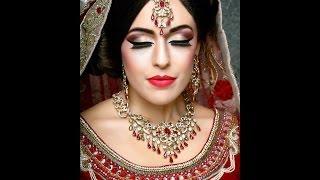 getlinkyoutube.com-Classic Modern Asian Bridal Makeover by Fahmida Ashiq - #Look 5