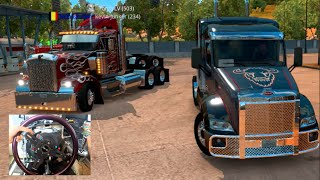 getlinkyoutube.com-American Truck Sim ONLINE - Building First Truck / Unlimited Money $$