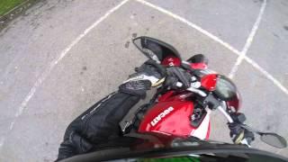 getlinkyoutube.com-Ducati Monster 821 Stripe Ride Sep 2015