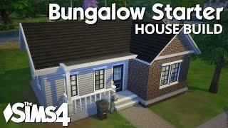 getlinkyoutube.com-The Sims 4 House Building - Bungalow Starter