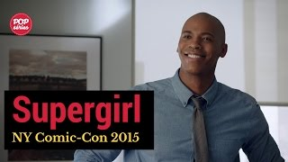 NYCC 2015: Mehcad Brooks de Supergirl