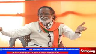 Exclusive: Interview with BJP Gangai Amaran | 28/03/2017 | Sathiyam News TV