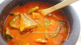 getlinkyoutube.com-Varutharacha Ayala Curry [Mackerel in roasted coconut gravy]- chinnuz' I Love My Kerala Food