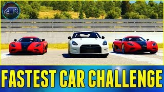getlinkyoutube.com-Forza Horizon 2 Online : FASTEST CAR CHALLENGE!!!