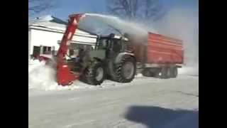 getlinkyoutube.com-snowblower self loading fendt 714