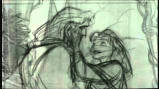 getlinkyoutube.com-Beast pencil transformation Beauty and the Beast
