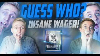 getlinkyoutube.com-GUESS WHO!? SIGNATURE WAGER Vs. My Brother!? (PART 2!!) Madden Mobile