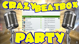 CRAZIEST BEATBOX PARTY ON XBOX LIVE !!!