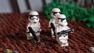 getlinkyoutube.com-Lego Star Wars Moc on Takodana