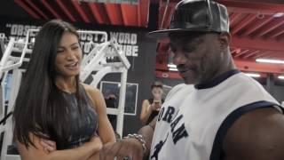 "getlinkyoutube.com-Dexter ""The Blade"" Jackson Visits Iron Addicts Gym Miami + NPC Nationals Recap"