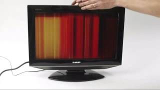 getlinkyoutube.com-Cara Memperbaiki LCD TV Bergaris